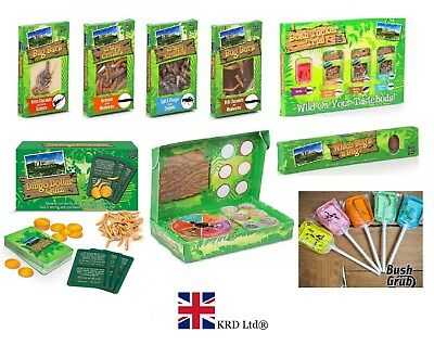 I'm A Celebrity Get Me Out of Here BUSH TUCKER TRIAL Insect Game Christmas Gifts