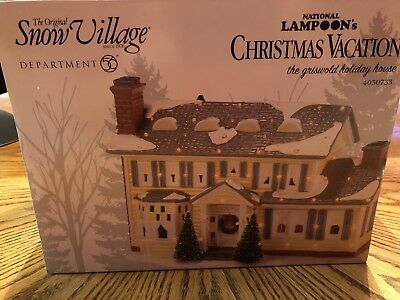 DEPT 56 SNOW VILL LED Christmas Vacation The Griswold Holiday House Lights Deco