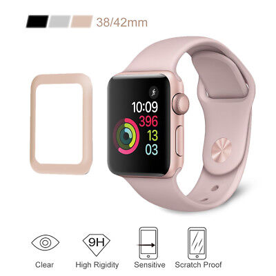 Premium Tempered Glass Film Screen Protector For iWatch Apple Watch 38mm/42mm