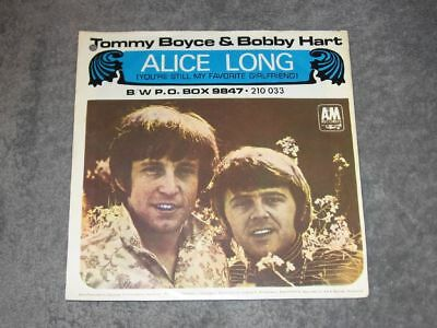 """7"""" Tommy Boyce & Bobby Hart: Alice Long German A&m Top Zustand"""