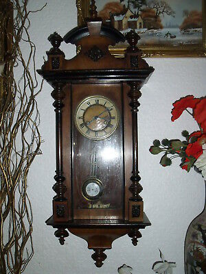 VIENNA  ANTIQUE WALL CLOCK H-90 cm