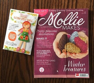 Mollie Makes (incl. the Free Gift), Issue 34, 2013