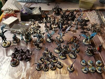 Legion of Everblight army 50% of it Nicely painted