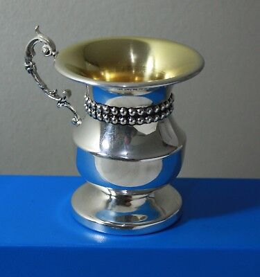 Antique Vintage Sterling Silver 925 Footed Cup