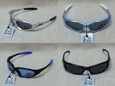 Boys Choppers Sunglasses- Black, Baby Blue, Royal Blue, Silver