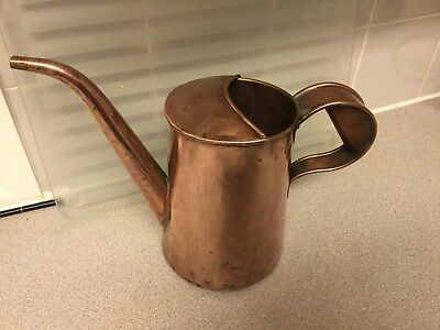 ANTIQUE Copper Water Can With Broad Arrow Mark