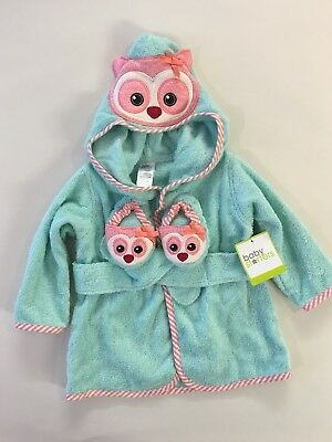 Dressing Gown / Booties  0-9 Months