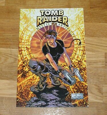Tomb Raider Artifacts (Top Cow Productions) Excellent Condition Post free in UK