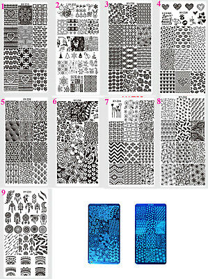 1 x Stamping Plate Image Design Template for Nail Art, Design Choice, UK Seller