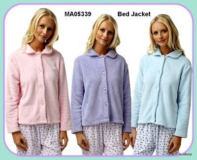 Fantastic Luxury Cosy Fabric Warm Winter Fleece Bed Jackets Sizes<>10 to 22