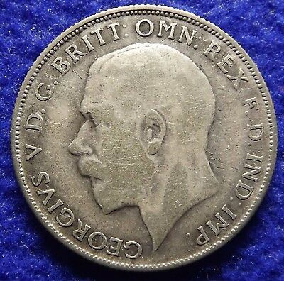 1926 GREAT BRITAIN One Florin -Silver 2 Shillings, George V, KM# 817a (#1598)