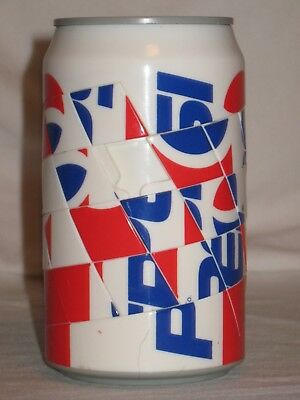 Pepsi Game Can - Rubix Cube Type Game - Very Good Condition -