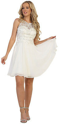 48a090a870 New Designer Sweet 16 Birthday Party Cocktail Dress Short Semi Formal  Engagement