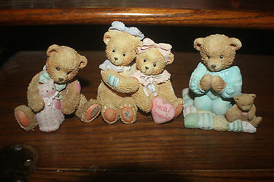 Cherished Teddies 916277 and 910740 and 911410 LOT of 3 FREE SHIPPING