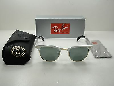 Ray-Ban Clubmaster Aluminum Sunglasses Rb3507 137 40 Silver silver Mirror  49Mm 3d0670ec91