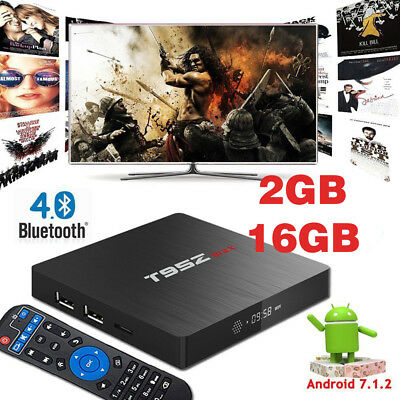 ✅ QBOX 2GB/16GB KD 17.3 Amlogic S905X Mali-450 Android 6.0 Smart TV Dual WIFI