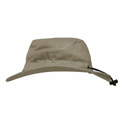 Frogg Toggs Waterproof Toadskinz Boonie Hat Stone Gray Breathable UV Protection