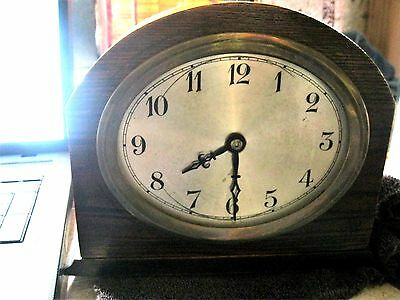 Antique Mantle Clock In Good Working Condition Wind Up
