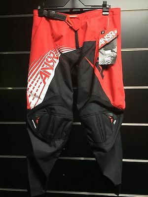 Answer A16 Syncron Pants Red/ Black/ White youth