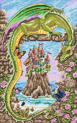 Guardian Dragon - Cross Stitch Chart - FREE POST