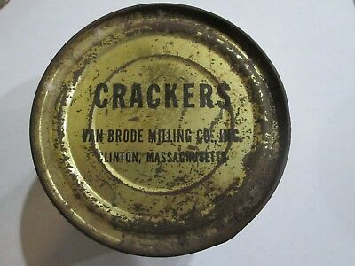 WW2 US C Ration Crackers Rare and unopened can US Army ration