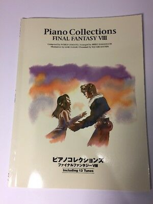 Final Fantasy VIII 8 Piano Collections Score Book / Japan Game Sheet Music