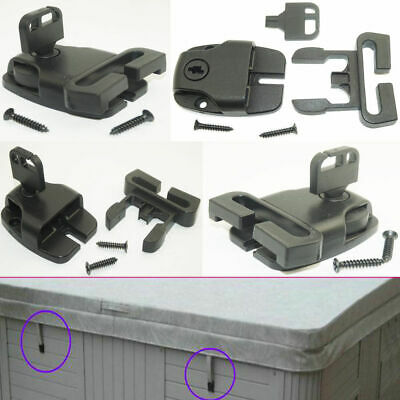5 Key Lock Lockable Safety Buckle Latch Pool Spa Hot Tub Cover Boat Backpack Bag