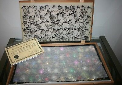 Thomas Pacconi Classics 2008 Set of 60 Small Ornaments in Wood Crate with COA