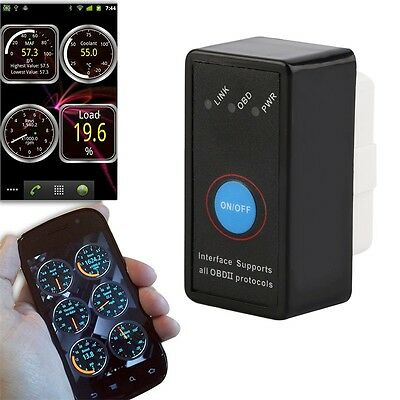 Bluetooth Adapter Scanner Torque Android OBD2 OBDII Code Reader Scan Tool SX