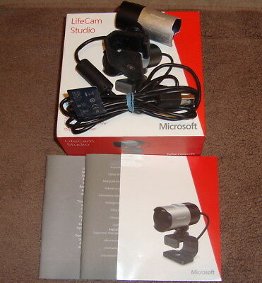 Microsoft LifeCam Studio Webcam USB 2.0 Full HD (1080p) komplett OVP