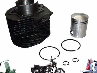 BRAND NEW LAMBRETTA BARREL PISTON CYLINDER KIT LI 150 SCOOTERS @AEs