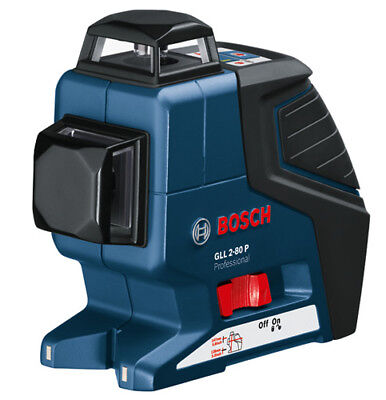 Bosch GLL 2-80 P - 360 Degree Self-Leveling Line Laser 601063204