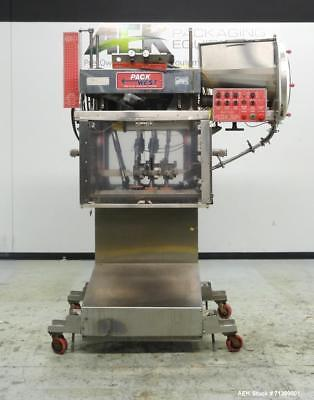 Used- Pack West Model Auto 120 Right-To-Left Automatic Inline Spindle Capper. si