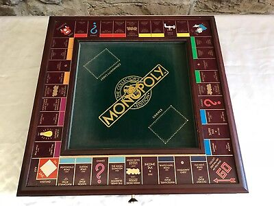 Franklin Mint Special Edition Board Game of Monopoly~Deluxe~never been played