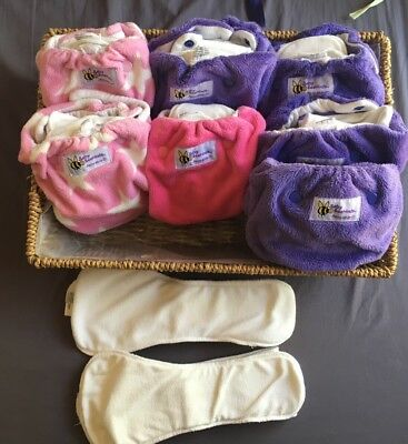 Baby Beehinds Petites AI2s Size M VGUC X 7