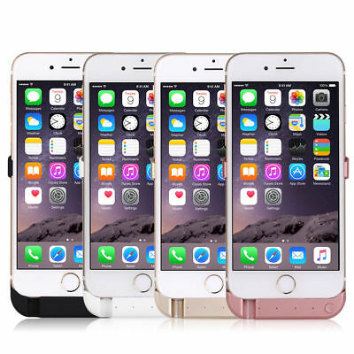 For iPhone 6 6S 7 Plus 10000mAh External Power Battery Charger Charging Case