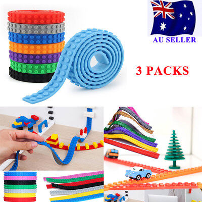 1m rolls Lego compatible Tape Block Tape Loop For LEGO Building Toys Best Gift