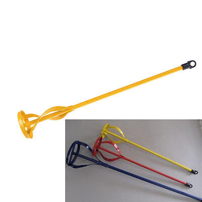 New Drill Paint Pot Plaster Mixer Stirrer Mix Paddle DIY Whisk Hex Shank TH