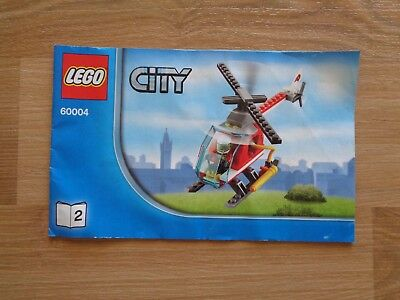 Lego City 60007 High Speed Chase Instruction Book 2 Only No Lego