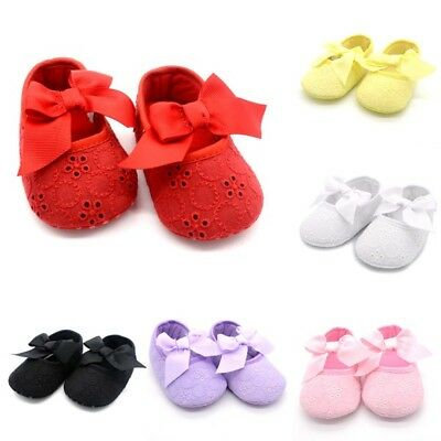 Newborn Toddler Infant Baby Girl Crib Shoes Soft Soled Baby Boys Cotton Sneakers