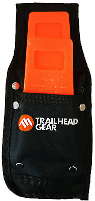 Trailhead Gear Black Durable Tree Felling Bucking Wedge Belt Pouch Holdster Ki