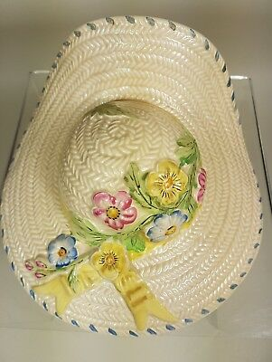Vintage Straw Hats Wall Pockets.