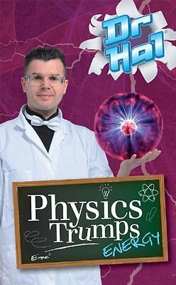 Dr Hal Physics Trumps Card Game - Top Science Stocking Filler