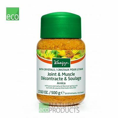 Kneipp Mineral Bath Salt Crystals Joint Muscle Arnica (500g)
