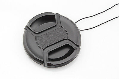 Snap-on Front Lens Cap Hood Cover for Nikon Tamron Sigma Sony Canon 62mm JS