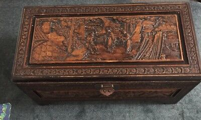Camphor Wood Chest Or Glory Box