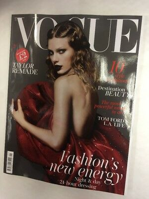 Vogue Magazine Issue January 2018 Taylor Swift Remade Fashions Energy Tom Ford
