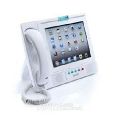 IP PHONE IPAD DOCKING STATION 30-PIN CONNECTOR - WHITE 4X SIP LINES Mocet MOIP-3
