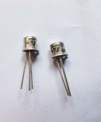 Pack of 2 x BC108C Transistors Made by ST
