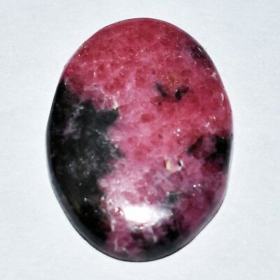 Nice 29.70 Cts Best Rhodonite Oval Cabochon 28x21 mm Loose Gemstone Ebay S-108